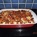 recette gratin de pommes de terre au jambon