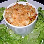 recette Macaroni de la mer gratinés