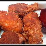 recette Pilons de poulet panés comme au KFC