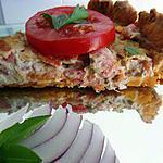 recette Tarte tomates et thon