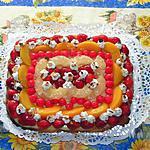 recette Tarte aux fruits frais