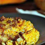 recette Gratin de crozets à la courge