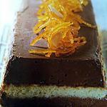 recette SUPREME DE MOUSSE CHOCOLAT ET FLEUR D ORANGER