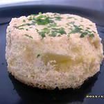recette petits flans de courgettes et parmesan