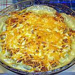 recette Gratin d'asperges et d' haricots vert