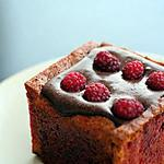 recette Mini charlotte framboise et chocolat