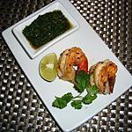 recette Crevettes et chutney indien