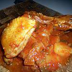 recette tajine poulet mouton sauce tomate