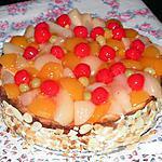 Biscuit aux fruits et au yaourt