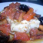recette cabillaud cuit en papillote aux girolles