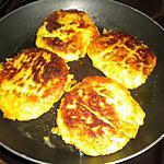 recette paillassons de pommes de terre au curcuma