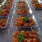 recette Brunoise de carottes glacées au cumin
