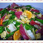 recette Salade acidulée aux magrets de canard gras séchés