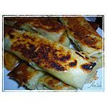 recette Croustillants de chou-fleur au stilton et allumettes de canard