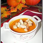 recette Soupe de potiron au comté et aux flocons d'avoine