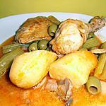 recette ragoût de poulet aux olives , pommes de terre et céleri-branche