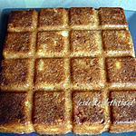recette gâteau pommes , noix et cannelle
