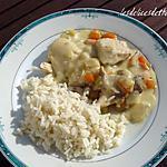 recette blanquette de poulet au cook'in
