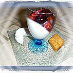 recette Panna cotta amande et ses figues rôties
