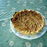 recette tarte flan aux pommes