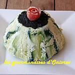 recette Chartreuse de courgettes et tapenade