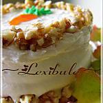 recette Gâteau aux carottes et au sirop d'érable, glaçage crémeux au sirop d'érable