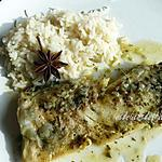 recette fliet de poisson aux épices douces