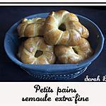 recette Petits pains à la semoule extra fine