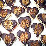 recette coeurs au chocolat