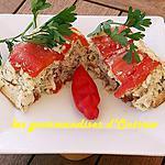 recette Terrine de poivron rouge à la raie