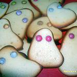 recette biscuits fantômes d'halloween !!!