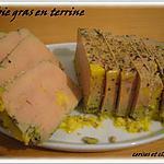 recette foie gras mi-cuit en terrine
