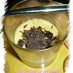 recette crème dessert à la vanille et ses copeaux de chocolat