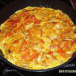 recette omelette/champignons/etc...