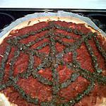 recette pizza toile d'araignée!!!
