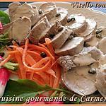 recette Filet mignon sauce au thon (vitello tonnato)