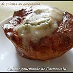 recette Flans de polenta au gorgonzola