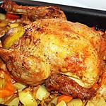recette Poulet rôti au citron et à la cannelle