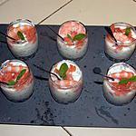 recette verrine de concombre
