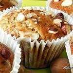 recette Muffins noisettes-chocolat au lait