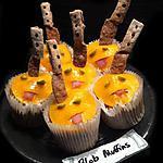recette Halloween Blob Muffins !