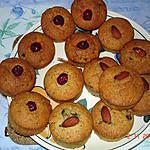 recette Muffins moelleux aux noisettes et amandes
