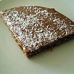 recette Petit gateau au chocolat et coco