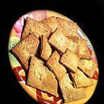 recette Crackers Pavot Sésame et Parmesan