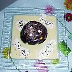 recette Muffines Au Chocolat Coeur Fondant Avec Crème Anglaise