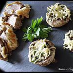recette Filet Mignon en Croute et Champignon farci au beurre persillé