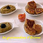 recette Bouchées de potimarron aux épices et son guacamole
