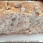 recette Pain complet aux graines de tournesol