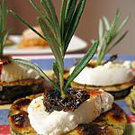 recette Brochettes de chèvre au miel et thym