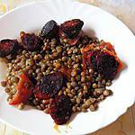 recette Lentilles au chorizo